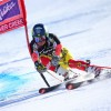 Canadian Trevor Philp celebrates victory at the 2nd Nor-Am Cup Giant Slalom in Copper Mountain