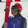 Federica Brignone steht wieder auf den Skiern