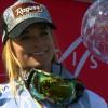 Gesamtweltcupsiegerin Lara Gut hat sich die große Kristallkugel mehr als nur verdient